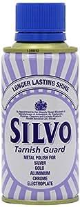 Silvo Tarnish Guard Liquid 150ml Tin - Silver Metal Polish by Reckitt & Benckiser