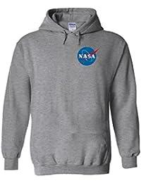 Nasa National Space Packet Pocket America White Men Women Unisex Hooded Sweatshirt Hoodie