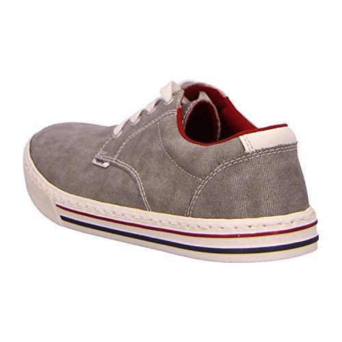 Rieker  19532-40, Chaussures de ville à lacets pour homme Gris gris 41 Gris