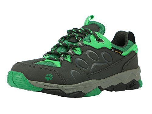 Jack Wolfskin MTN Attack 2TEXAPORE Low Shoes Kids concombre Green 2016Chaussures basses Gris - Gris