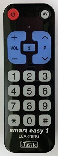 Telecomando Smart Easy 1, case–Telecomando universale programmabile Telecomando per anziani, gru, Hotel