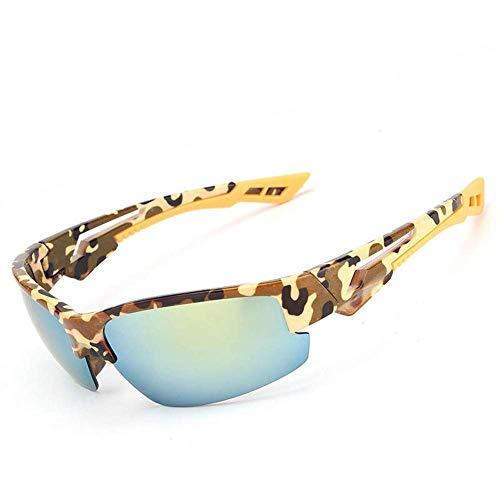 YSA Sonnenbrille Damen 'S Herren' S Sonnenbrille Fahrbrille Camouflage Sonnenbrille Goggles Square Zubehör