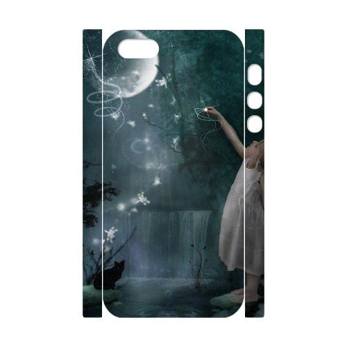 LP-LG Phone Case Of Night Fairy For iPhone 5,5S [Pattern-6] Pattern-3