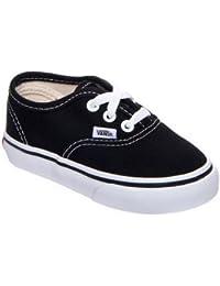 Vans Authentic VED9BLK - Zapatillas de lona para niños