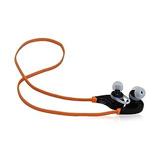 Bluetooth Kopfhörer, drahtloser Nackenbügel Bluetooth Kopfhörer, Sweatproof v4. 1 Lärm reduzieren Kopfhörer Ohrhörer mit Mikrofon & Stereo für Sport mit magnetischer Anziehungspunkt