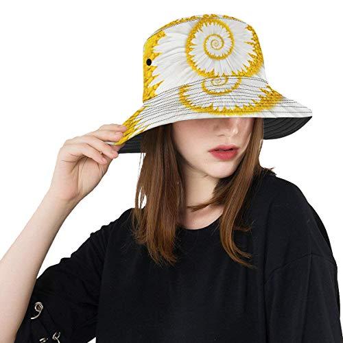 Sombreros Pesca Manzanilla Flor Infinito Espiral Resumen