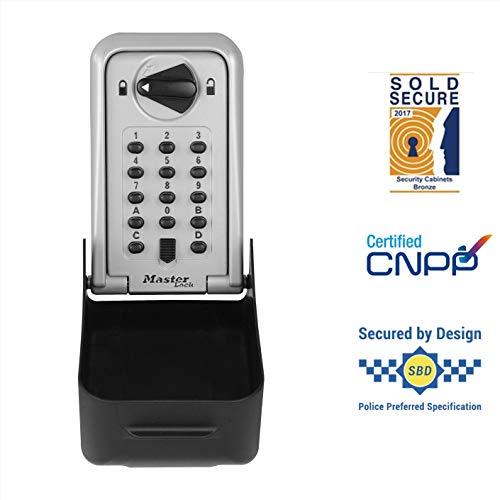 MASTER LOCK  Zertifizierte Schlüsseltresor [extra groß] [Wandhalterung] - 5426EURD - Extra hohe Sicherheit Schlüsselsafe