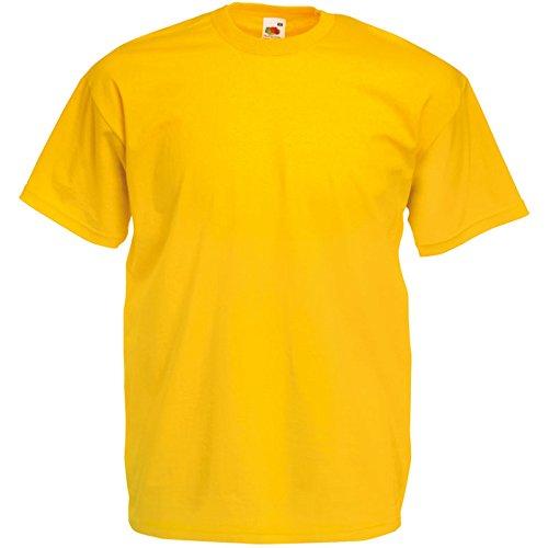 Fruit of the Loom Valueweight T-Shirt Sonnenblumengelb XXL