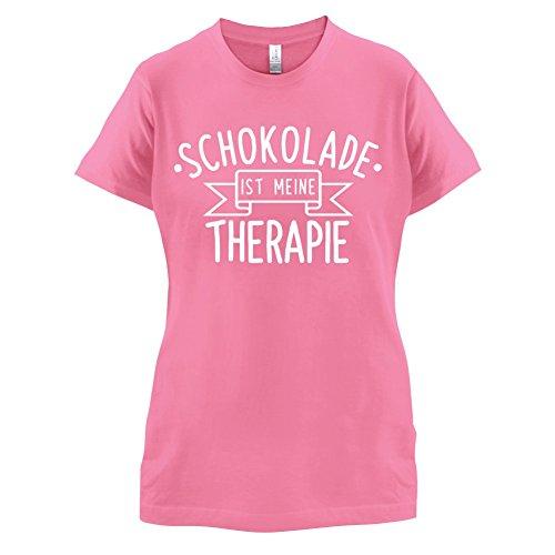 Schokolade ist meine Therapie - Damen T-Shirt - 14 Farben Azalee