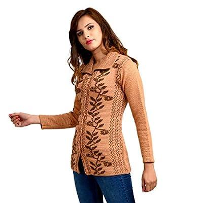 Pipasa Women's Woolen Winter Cardigan