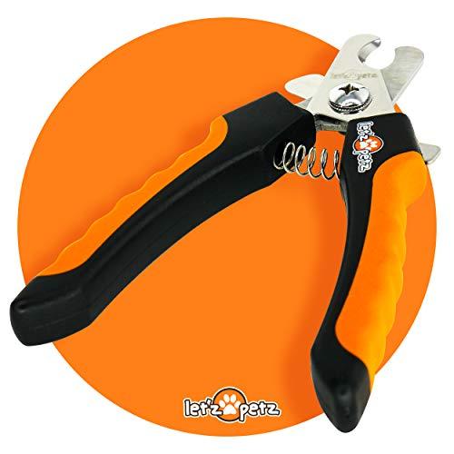 LetzPetz Krallenzange   Krallenpflege   Krallenschere   Schere für Hunde, Katzen, Meerschweinchen und Kaninchen   Haustier Krallen Schneiden   Krallenschneider