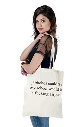Borsa da donna in cotone naturale Libreria libri Fashion Borsa Palestra Shopping Spiaggia Lino Yoga Borsa AIRPORT