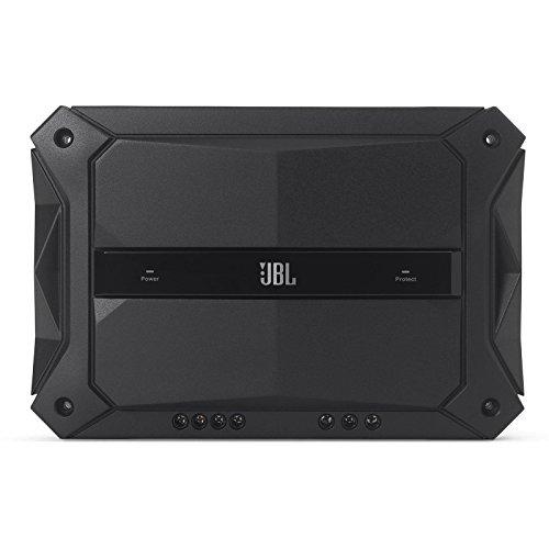 JBL GTR Stadium 601 Auto-Hifi Leistungsstarker 1-Kanal Mono Subwoofer Verstärker (600W) - Schwarz