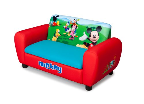 Disney Mickey Mouse Upholstered Storage Sofa