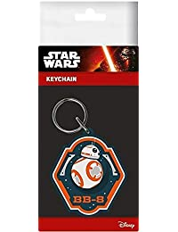 Star Wars VII The Force Awakens BB-8 Rubber Keychain