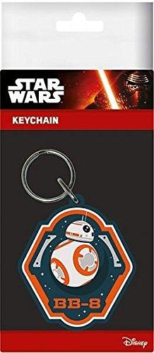 Star Wars 7 - Rubber Keychain Bb-8