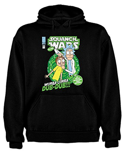 Sudadera de Rick and Morty Divertida Friky Smith Tiny niños 5-6Años