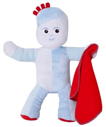 In the Night Garden Talking IgglePiggle Soft Toy, 30cm by Golden Bear Toys
