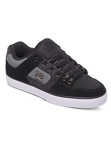 DC Shoes  Pure SE, Sneakers basses homme Black Destroy Wash