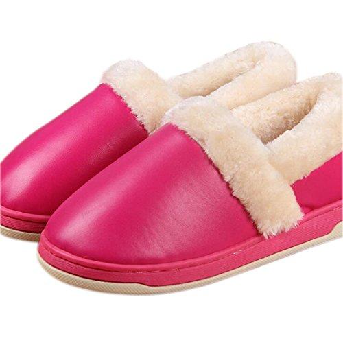 Fasion Nouveau Hommes Femmes Douce Et Chaude Interieure Chaussons Cotton House Accueil Antiderapants Chaussures Se leva