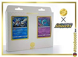 Primarene (Primarina) 67/214 Y Woingenau (Wobbuffet) 93/214 - #tooboost X Sonne & Mond 8 Echo Des Donners - Box de 10 Cartas Pokémon Alemán + 1 Goodie Pokémon