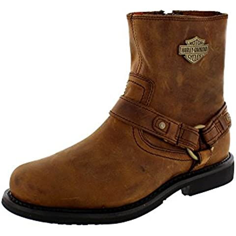 Harley Davidson Biker Boots Boots Scouts D95263 Brown Brown arnés