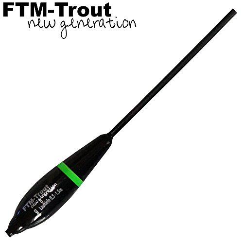FTM Dancer Bombarde 0,5-1,5m - Bombarda zum Forellenangeln, Bombarden für Forellen, Sbirolino, Sbirulino für Forelle, Gewicht:8g