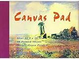 Canvas Pad Maltuch Block 22,9 x 30,5cm 10 Blatt