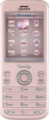 Ngm vanity young smartphone, dual sim, rosa [italia]
