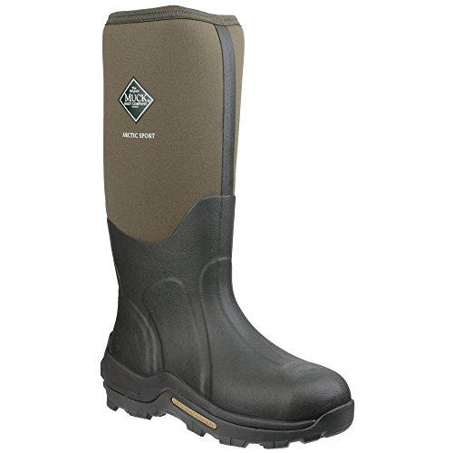 Muck Boots - Arctic Sport - Stivali Wellington - Unisex Muschio