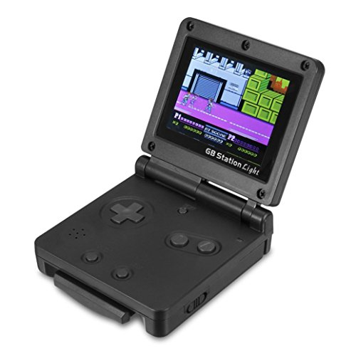 HKFV Mini-Retro-Handheld-Videospielkonsole 142 Spiele Portable Game Player GB Station Mini-Handheld-Spielkonsole 8-Bit Game Console