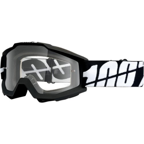 100% Accuri Maske Black Tornado Display Klar