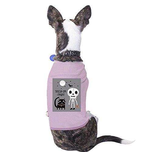 365Druck Halloween-Kostüm Tshirt für Hunde Funny Pet Shirts Geschenk (Katze Kostüm Blut)
