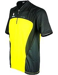 Camisa de manga corta Nalini Maillot camiseta hombre Sprit amarillo negro