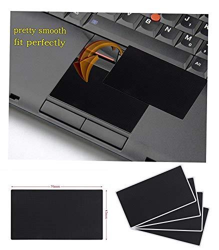 4er Set Ersatz Touchpad Aufkleber für Lenovo IBM Thinkpad T410 T410I T410S T400S T420 T420I T420S T430 T430S T430I T510 T510I T520 W510 W520 L520 L510 L420 L412 L520 SL410K Serie - Thinkpad-touchpad