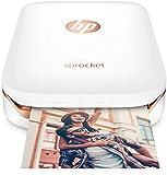 HP Sprocket Portable Photo Printer (White)