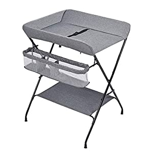 Baby Changing Table, Multifunction Massage Table with Storage, Diaper Station Collapsible   11