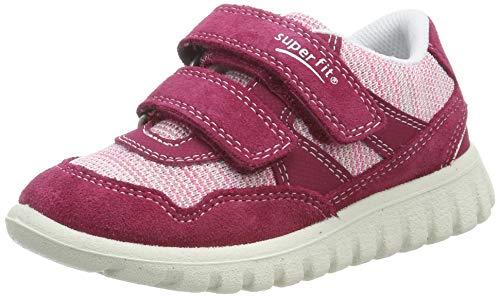 Superfit Baby Mädchen SPORT7 Mini Sneaker, Rot/Rosa 50, 26 EU