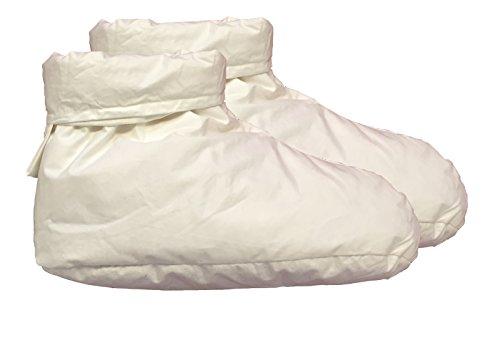 NEU! Daunenschuhe Bettschuhe Schlafschuhe mollig warm -  Qualität aus dem Schwarzwald - nie mehr kalte Füße Gr. 38-42