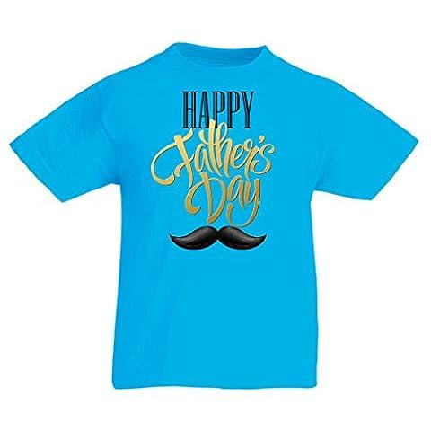 Maman Papa Fille Halloween - T-shirt pour enfants Happy Fathers Day -