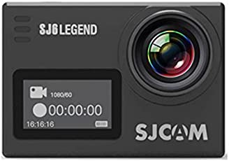 Mobile Gear SJCAM SJ6 LEGEND 4K HD 16MP Dual Touch Screen Action Camera With Accessories - Black