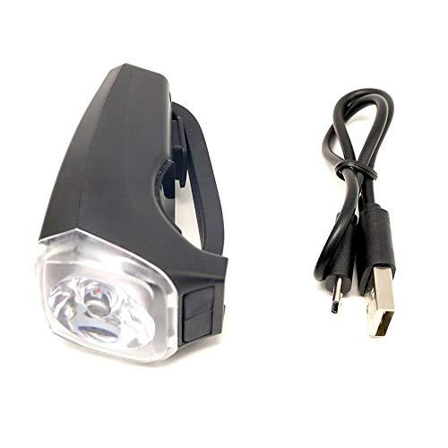 Ailihan Lautsprecher-Lampe USB Aufladbare Fahrrad Scheinwerfer helles helles Licht markieren intelligente Horn Ride Mountainbike Fahrrad Scheinwerfer