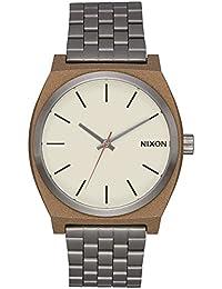 Nixon  A045-2091-00 - Reloj para Hombre Time Teller 37mm, Bronze/Gunmetal