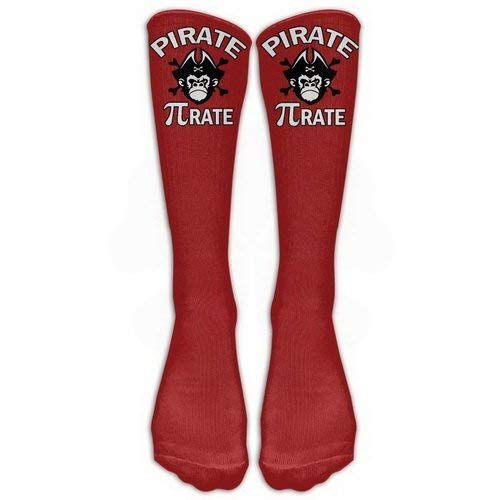 Girls Classics One Size Warm Winter Knee High Socks Pirate Pi-rate Chimpanzee Skull Great Quality Men 1 Pair Long Tube Stockings for Athletic Soccer -