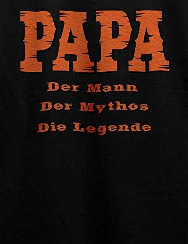 Papa Der Mann Herren T-Shirt Schwarz