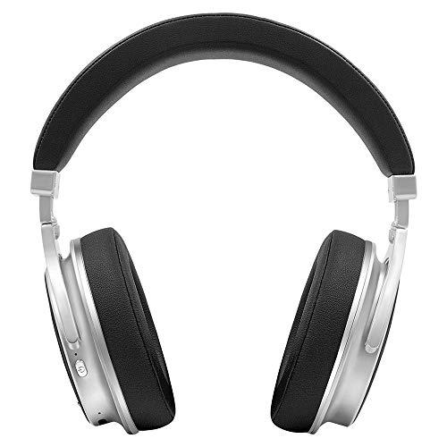 XZZ Bluetooth-Headset drahtloses Headset Hi-Fi-Stereo-Headset mit Geräuschminderungsmikrofon unterstützt PC/Handy,Black