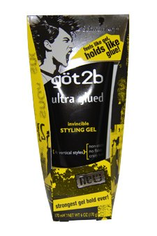 Got2b U-HC-4407 Ultra Glued Invincible Styling Gel by Got2b for Unisex - 6 oz Gel
