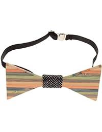 Cravate Fantaisie Noeud Papillon en Bois pr Tuxedo de Marié Mariage Homme Cadeaux