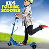 Sancus Global Road Runner 3-Wheel Folding Kick Kids Scooty Scooter Tricycle for Indoor