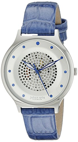 Johan Eric JE1600-04-001.11 - Reloj de pulsera Mujer, color Azul